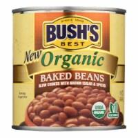Bush's Best - Baked Beans - Organic - Case of 12 - 16 oz. - Case of 12 - 16 OZ each