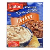 Lipton Kosher Recipe Secrets Onion Soup - Case of 12 - 1.9 oz.