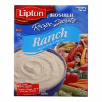 Lipton Soup and Dip Mix - Recipe Secrets - Ranch - Kosher - Packet - 2.4 oz - case of 12 - Case of 12 - 2.4 OZ each