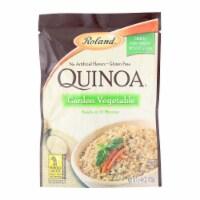 Roland Quinoa - Garden Vegetable - Case of 12 - 5.46 oz. - Case of 12 - 5.46 OZ each
