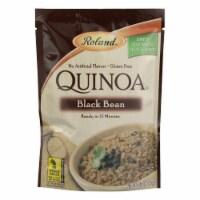 Roland Quinoa - Black Bean - Case of 12 - 5.46 oz.