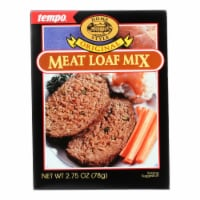 Tempo Home Style Meatloaf Mix - Original - 2.75 oz - Case of 12 - Case of 12 - 2.75 OZ each