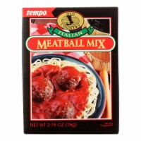 Tempo Old Country Meatball Mix - Italian - 2.75 oz - Case of 12 - Case of 12 - 2.75 OZ each