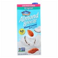 Almond Breeze - Almond Coconut Milk - Unsweetened - Case of 12 - 32 fl oz. - Case of 12 - 32 FZ each