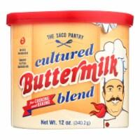 Saco Foods Buttermilk Powder Blend - Cultured - 12 oz - case of 12 - Case of 12 - 12 OZ each