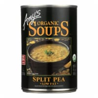 Amy's - Organic Fat Free Split Pea Soup - Case of 12 - 14.1 oz - Case of 12 - 14.1 OZ each