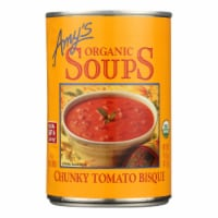 Amy's - Organic Chunky Tomato Bisque - Case of 12 - 14.5 oz - Case of 12 - 14.5 OZ each