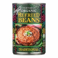 Amy's - Organic Traditional Refried Beans - Case of 12 - 15.4 oz.