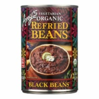 Amy's - Organic Refried Black Beans - Case of 12 - 15.4 oz.