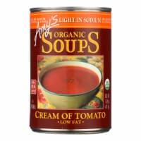 Amy's - Organic Low Sodium Cream of Tomato Soup - Case of 12 - 14.5 oz