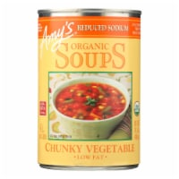 Amy's - Soup Organic Chunky Vegetable - Case Of 12 - 14.3 Oz - Case of 12 - 14.3 OZ each