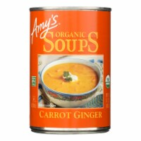 Amy's - Soup Organic Carrot Ginger - Case Of 12 - 14.2 Oz - Case of 12 - 14.2 OZ each