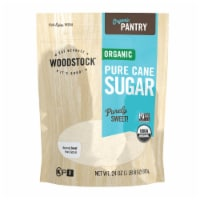 Woodstock Organic Pure Cane Sugar - Case of 12 - 24 OZ - Case of 12 - 24 OZ each