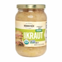 Woodstock Organic Sauerkraut - Case of 12 - 16 OZ - Case of 12 - 16 OZ each