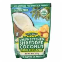 Let's Do Organics Organic Shredded - Coconut - Case of 12 - 8 oz. - Case of 12 - 8 OZ each