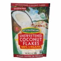 Let's Do Organics Coconut Flakes - Case of 12 - 7 oz. - Case of 12 - 7 OZ each