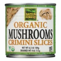 Native Forest Mushrooms - Organic - Crimini - Sliced - 4 oz - case of 12 - Case of 12 - 4 OZ each