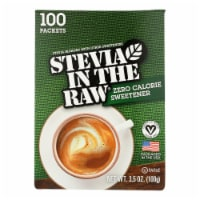Stevia In The Raw Sweetener - Packets - Case of 12 - 100 Count - Case of 12 -100 Count ea