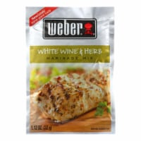 Weber Grill Creations Marinade - White Wine & Herb - Case of 12 - 1.12 oz - Case of 12 - 1.12 OZ each