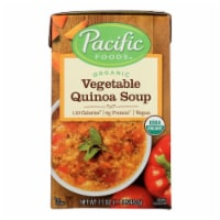 Pacific Natural Foods Quinoa Soup - Vegetable - Case of 12 - 17 oz. - Case of 12 - 17 OZ each
