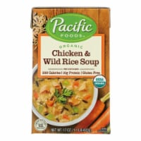 Pacific Natural Foods - Soup Chicken Wild Rice - Case of 12-17 OZ - Case of 12 - 17 OZ each