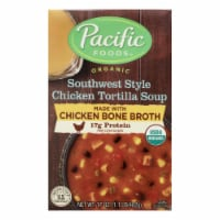 Pacific Natural Foods - Soup Chicken Tortilla - Case of 12 - 17 OZ - Case of 12 - 17 OZ each