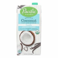 Pacific Natural Foods Coconut Vanilla - Unsweetened - Case of 12 - 32 Fl oz. - Case of 12 - 32 FZ each