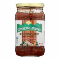 Green Mountain Gringo Medium Salsa - Garlic - Case of 12 - 16 oz. - Case of 12 - 16 OZ each
