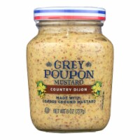 Grey Poupon Mustard Country Dijon  - Case of 12 - 8 OZ