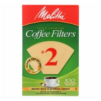 Melitta - Cone Filters Brown #2 - Case of 12 - 100 CT - Case of 12 - 100 CT each