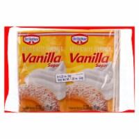Dr. Oetker Organics Vanilla Sugar - Artifically Flavored - 1.92 oz - Case of 12 - Case of 12 - 1.92 OZ each