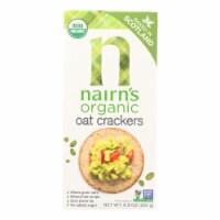 Nairn's Rough Cut Organic Oatcakes - Case of 12 - 8.8 oz. - Case of 12 - 8.8 OZ each
