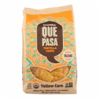 Que Pasa - Tort Chips Yel Corn - Case of 12 - 11 OZ - Case of 12 - 11 OZ each