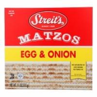 Streit's Daily Matzo - Egg and Onion - Case of 12 - 11 oz. - Case of 12 - 11 OZ each