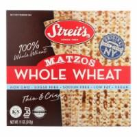 Streit's Matzo Meal - Whole Wheat - Case of 12 - 11 oz. - Case of 12 - 11 OZ each