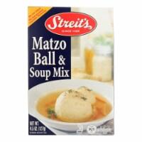Streit's Matzo - Ball and Soup Mix - Case of 12 - 4.5 oz. - Case of 12 - 4.5 OZ each