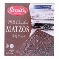 Streit's - Matzo Milk Chocolate Kosher for Passover - Case of 12-7 OZ - Case of 12 - 7 OZ each