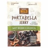 Savory Wild - Portabella Jerky Blsmc Fg - Case of 12 - 2 OZ - Case of 12 - 2 OZ each