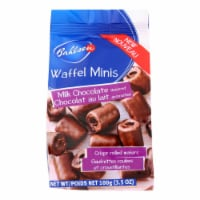 Bahlsen Waffle Minis Cookies with Milk Chocolate - Case of 12 - 3.5 OZ - Case of 12 - 3.5 OZ each
