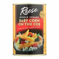 Reese - Baby Corn On The Cob - Case of 12 - 15 oz - Case of 12 - 15 OZ each