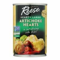 Reese Artichoke Hearts - Hearty Large - Case of 12 - 14 oz. - Case of 12 - 14 OZ each