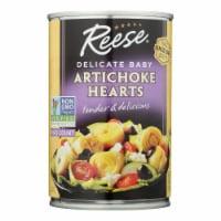 Reese Artichoke Hearts - Delicate Baby - Case of 12 - 14 oz.