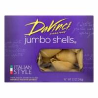 DaVinci - Pasta - Jumbo Shells - Case of 12 - 12 oz - Case of 12 - 12 OZ each