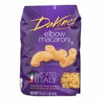 DaVinci - Elbow Macaroni Pasta - Case of 12 - 1 lb. - Case of 12 - 1 LB each