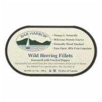 Bar Harbor - Wild Herring Fillets - Cracked Pepper - Case of 12 - 6.7 oz. - Case of 12 - 6.7 OZ each