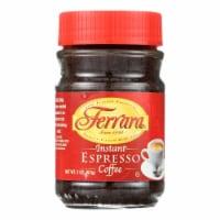 Ferrara Instant Espresso - Case of 12 - 2 oz - Case of 12 - 2 OZ each