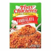Tony Chachere's Famous Creole Cuisine Creole Jambalaya Dinner Mix  - Case of 12 - 8 OZ