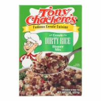 Tony Chachere's Creole Dirty Rice Dinner Mix - Case of 12 - 8 OZ