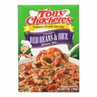 Tony Chachere's - Dinner Rice & Bean - Case of 12 - 7 OZ - Case of 12 - 7 OZ each