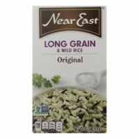 Near East Rice Pilaf Mix - Long Grain and Wild Rice - Case of 12 - 6 oz.